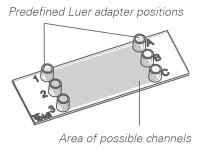 ibidi 特殊流体载玻片和通道 客户定制